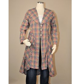 Bodil Cotton Gingham Coat/Duster by Bodil