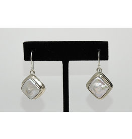 Pam Springall Peals on wire earrings