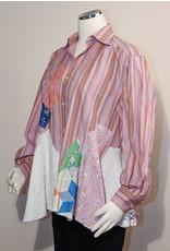 Char Designs, Inc. EJ Shirt Lace 2008 Pink/Orange Stripe