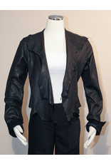 A. Tsagas Black Short Gabriella Jacket