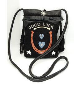 Char Designs, Inc. P-Good Luck Blue Hearts Denim