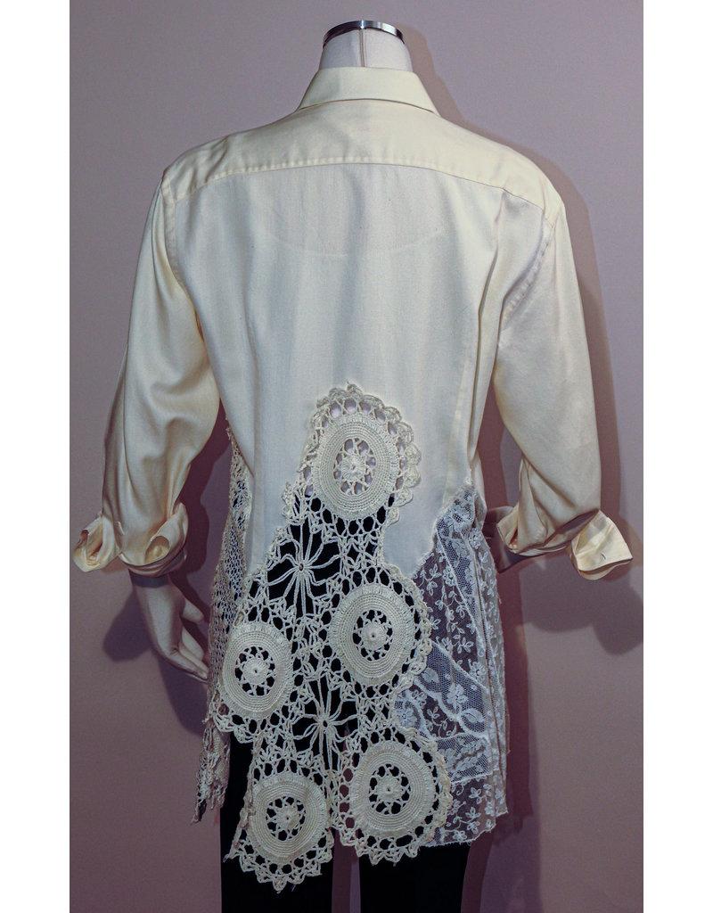 Char Designs, Inc. EJ Cream Lace Shirt