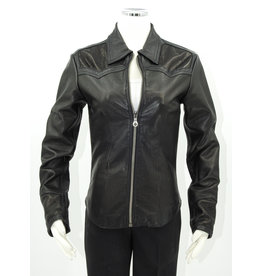 Alan Michael USA Corp Zip Jacket, Deerskin/Lambskin S