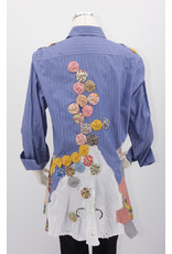 Char Designs, Inc. EJ shirt lace 2059 Antique Lace Patchwork