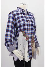 Char Designs, Inc. EJ shirt lace 2057 Antique Lace Ptachwork