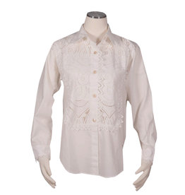 Char Designs, Inc. Lace Tuxedo Shirt