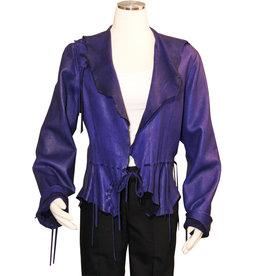 A. Tsagas Purple Kiki short jacket