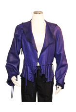 A. Tsagas Purple Kiki short jacket