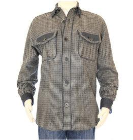 Alan Michael USA Corp Mens Wool Plaid Unisex Coat