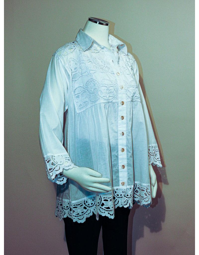Char Designs, Inc. 155-1183-C Angelica White S