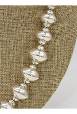 "Ray Van Cleve 20.5"" Sterling Silver Saucer Beads"