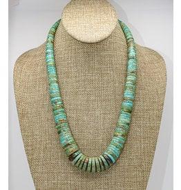 Jolene Bird Nevada Green Turquoise Necklace by Jolene Bird