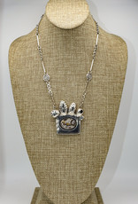Judy Perlman Sterling, Agate Bee, HM Chain