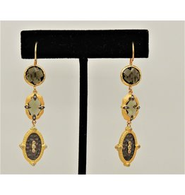 Bijouterie Vermeil/Smky Qrtz Earrings