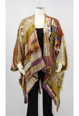 """Wimberley Valley Saori """"Santa Fe Sunset"""" All Natural-One of a Kind"""