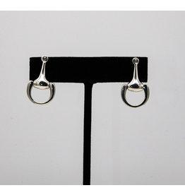 Vincent Peach Sm. Equestrian Bit Earrings