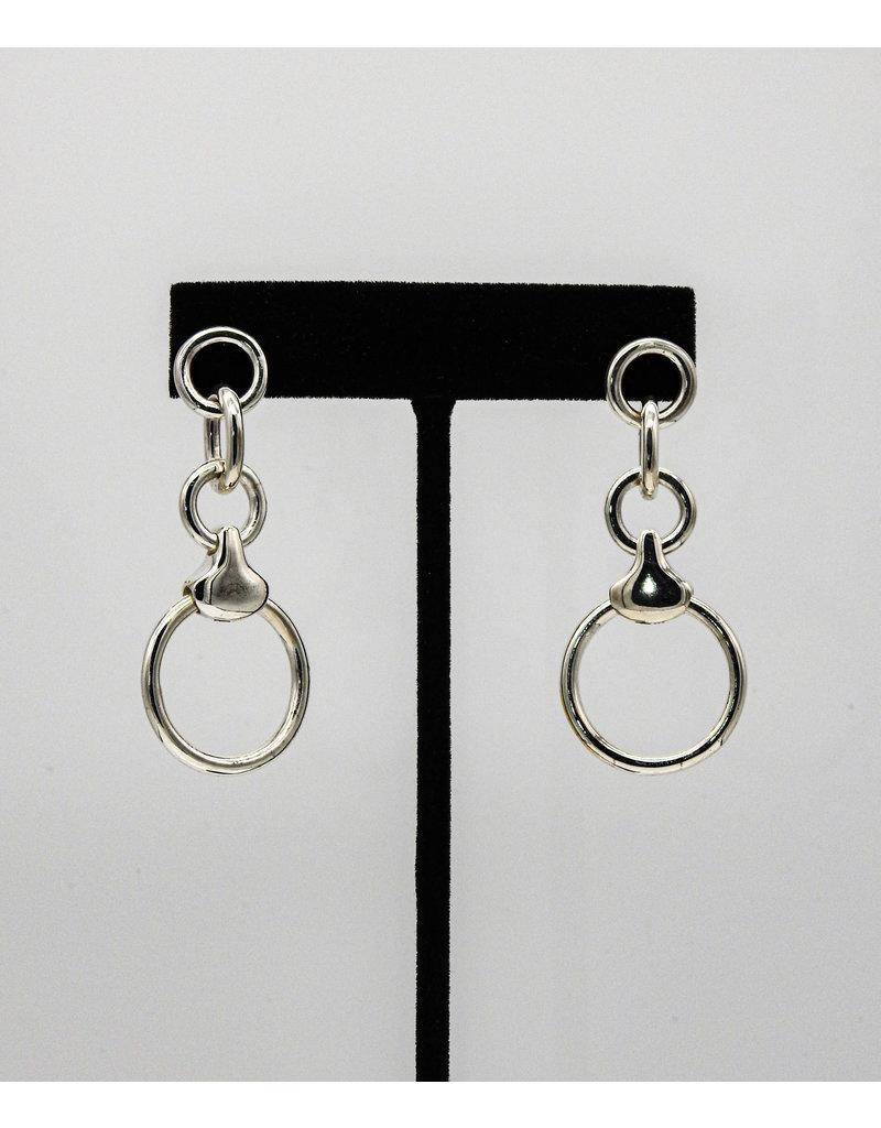 Vincent Peach VP Dressage Earrings