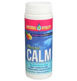 NATURAL VITALITY Natural Calm, Rasp. - Lemon, 8oz