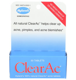 HYLAND'S® HYLAND'S CLEARAC ACNE TABLETS, 50 TABLETS