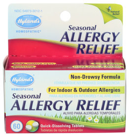 HYLAND'S® HYLAND'S HOMEOPATHIC SEASONAL ALLERGY RELIEF, 60 TABLETS