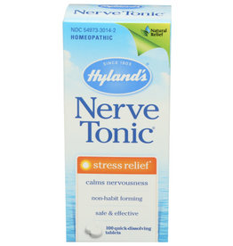 HYLAND'S® HYLAND'S HOMEOPATHIC NERVE TONIC STRESS RELIEF TABLETS, 100 COUNT
