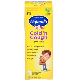 HYLAND'S® HYLAND'S 4 KIDS DAYTIME COLD 'N COUGH HOMEOPATHIC REMEDY, 4 FL. OZ.