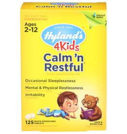 HYLAND'S® HYLAND'S 4 KIDS CALM N' RESTFUL HOMEOPATHIC MEDICINE, 125 TABLETS
