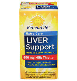 RENEW LIFE Extra Care Liver Support 90ct