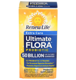 RENEW LIFE RENEW LIFE ULTIMATE FLORA PROBIOTIC SUPPLEMENT, 60 CAPSULES