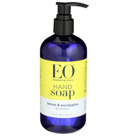 EO® EO HAND SOAP, LEMON & EUCALYPTUS, 12 FL. OZ.