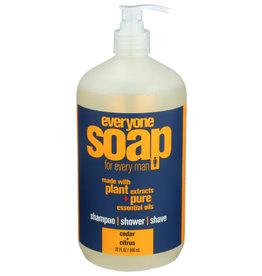 EVERYONE™ EVERYONE MEN'S SOAP, CEDAR CITRUS, 32 FL. OZ.