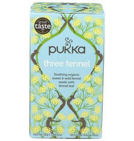 PUKKA PUKKA ORGANIC HERBAL TEA, THREE FENNEL, 36 G