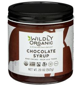 WILDLY ORGANIC SYRUP CHOCOLATE 20 OZ