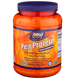 NOW SPORTS® NOW ORGANIC PEA PROTEIN, 2 LBS.