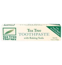 TEA TREE THERAPY TEA TREE THERAPY TOOTHPASTE WITH BAKING SODA, 5 OZ.