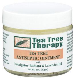 TEA TREE THERAPY TEA TREE THERAPY TEA TREE ANTISEPTIC OINTMENT, WITH EUCALYPTUS RADIATA & LAVENDER OIL, 2 OZ.