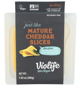 VIOLIFE Violife Cheese Slices Mature Cheddar
