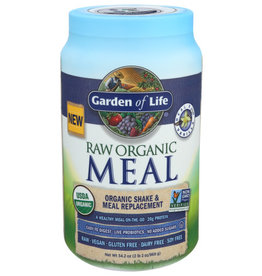 GARDEN OF LIFE® GARDEN OF LIFE RAW ORGANIC SHAKE AND MEAL REPLACEMENT, 34.2 OZ.
