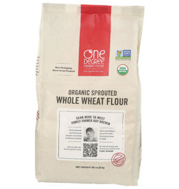 ONE DEGREE ONE DEGREE SPROUTED WHOLE WHEAT FLOUR, ORGANIC, 80 OZ.