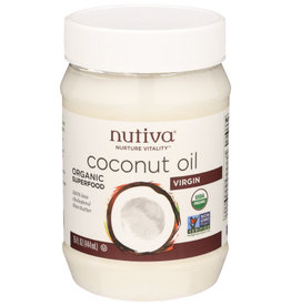 NUTIVA® NUTIVA COCONUT OIL, VIRGIN, 15 FL. OZ.