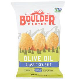 BOULDER CANYON™ BOULDER CANYON KETTLE COOKED POTATO CHIPS, OLIVE OIL, 5 OZ. BAG