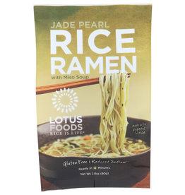 LOTUS FOODS RICE IS LIFE® LOTUS FOODS JADE PEARL RICE RAMEN WITH MISO SOUP, 2.8 OZ.