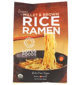 LOTUS FOODS LOTUS FOODS ORGANIC MILLET & BROWN RICE RAMEN, 10 OZ.