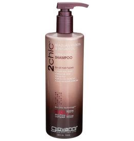 GIOVANNI® GIOVANNI SHAMPOO 2CHIC ULTRA-SLEEK SHAMPOO WITH BRAZILIAN KERATIN & ARGAN OIL, 24 FL. OZ.