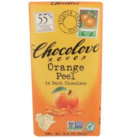 CHOCOLOVE® CHOCOLOVE ORANGE PEEL IN DARK CHOCOLATE , 3.2 OZ.