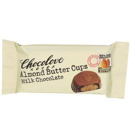 CHOCOLOVE® CHOCOLOVE NUT BUTTER CUPS, MILK CHOCOLATE, 1.2 OZ.
