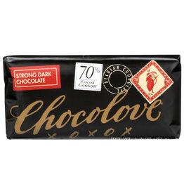 CHOCOLOVE® CHOCOLOVE STRONG DARK CHOCOLATE , 1.3 OZ.