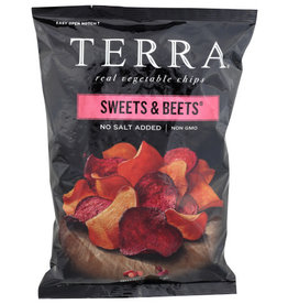 TERRA® TERRA SWEETS AND BEETS REAL VEGETABLE CHIPS, 6 OZ.