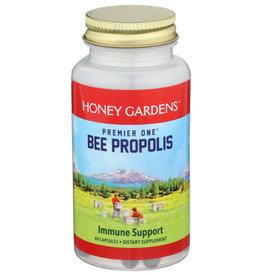HONEY GARDENS PREMIER ONE BEE PROPOLIS DIETARY SUPPLEMENT, 60 CAPSULES