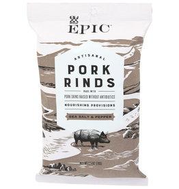 EPIC® EPIC PORK RINDS, SEA SALT & PEPPER, 2.5 OZ.